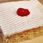 Pastel de tres leches receta fácil